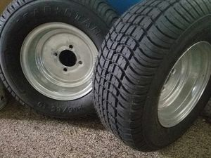 2 Trailer Tires 4 lugs for Sale in Cleveland Heights, OH