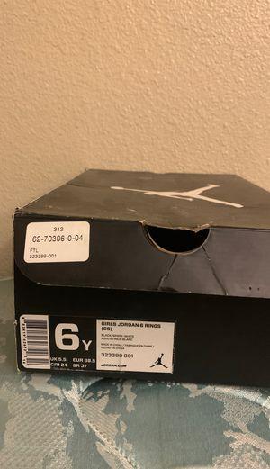 Girls 6y 6Rings Jordan Shoes for Sale in Denver, CO