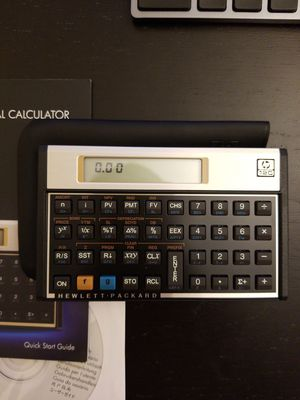 Brand new hp 12c financial calculator for Sale in Alhambra, CA