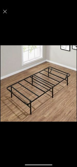 TWIN BED FRAME WITH MATTRESS FOR SALE for Sale in Lawrence Township, NJ