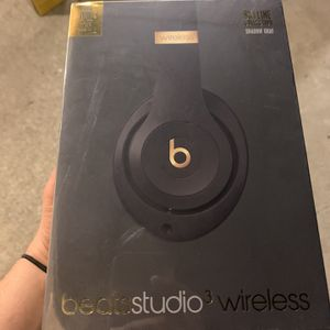 Beats Studio 3 Wireless Skyline Collection Shadow Gray for Sale in Costa Mesa, CA
