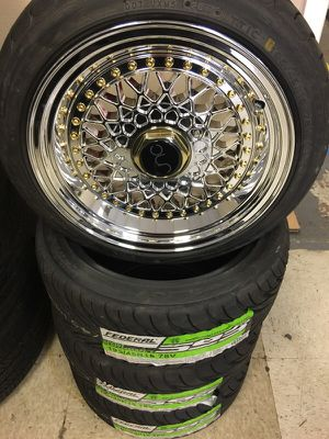 """15"""" jnc004s wheels and tires for Sale in Pasadena, TX"""