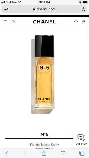 Chanel No 5 perfume for Sale in San Diego, CA