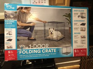 Small dog crate - new in box never opened for Sale in Madison Heights, MI