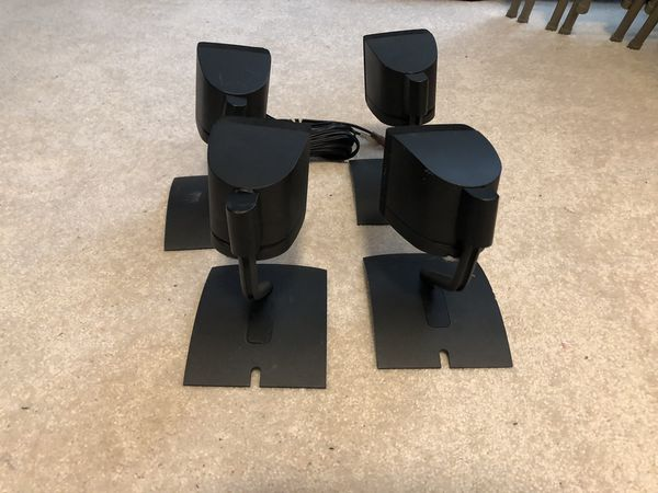 Bose single Speakers with stand and two wires