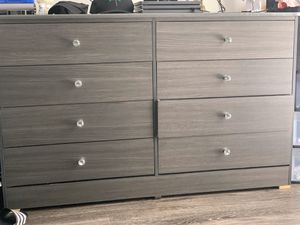 Gray 8 door dresser for Sale in Los Angeles, CA