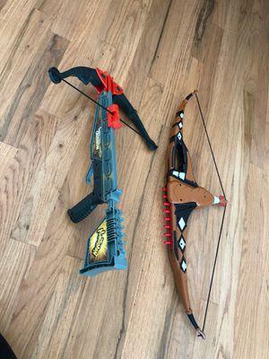 Nerf gun cross bows for Sale in Schaumburg, IL