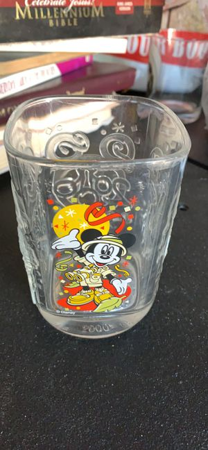 2000 McDonald's/Disney world Animal Kingdom commemorative glass for Sale in Austin, TX