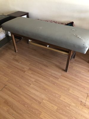 PRICED TO SELL FAST!!! Padded massage / traction exam table. Must be purchased no later than 3 pm 7/7/2020 !! for Sale in Pasco, WA