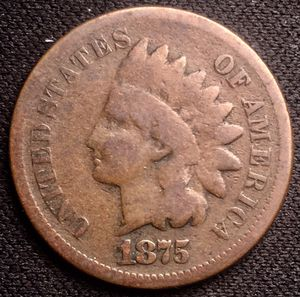 1875 Indian Head Cent for Sale in Geneva, IL