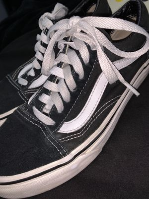Black and white vans for Sale in East Compton, CA