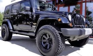 "17"" JEEP Off-Road Wheel & Tire Special 17x9 Black Wheels 35x12.50R17 Mud Terrain Tires Lift Kit 4"" ProComp From @ $1999 for Sale in La Habra, CA"