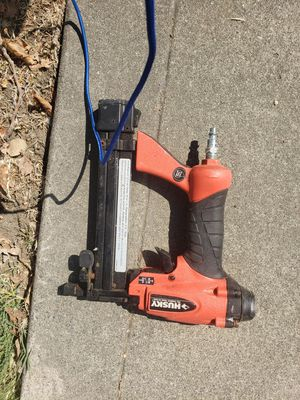 Husky nail gun... works great. for Sale in Sunnyvale, CA