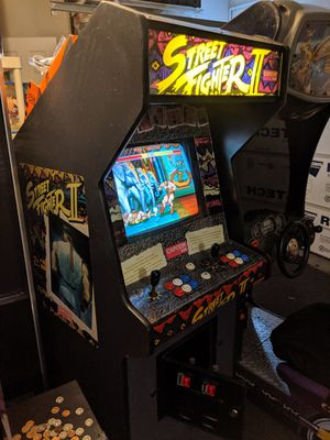 Trade or cash original full size Street fighter 2 arcade for Sale in Riverside, CA