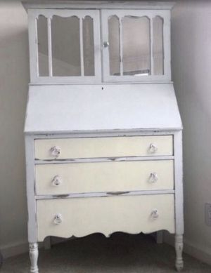 Antique French Mirror Dresser with Desk for Sale in West Hollywood, CA