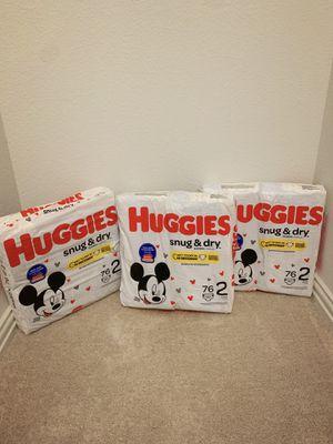 Huggies Snug & Dry Size 2 for Sale in Red Oak, TX