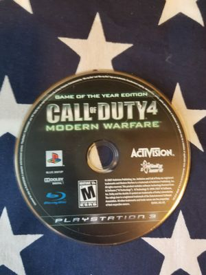 Call Of Duty 4: Modern Warfare (PS3) for Sale in US