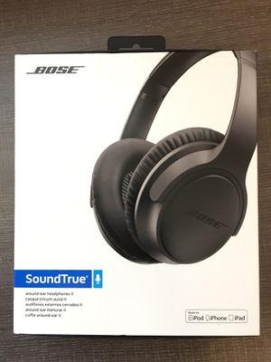 Bose Soundtrue headphones ll - NEW for Sale in Murphy, TX