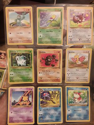 Pokemon cards from first three sets & UK 1999-2000 for Sale in Reading, PA