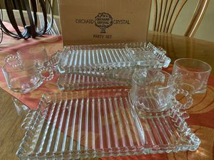 Orchard Crystal Party Set for Sale in Portland, OR