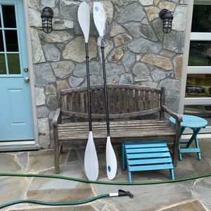 "2 Tortuga Harmony Kayak paddles. Brand new. Never used. 86"" long. for Sale in Rockville, MD"