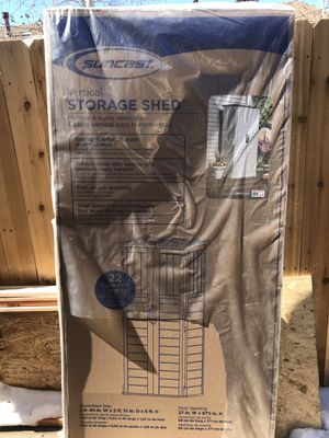 Brand New SunCast Storage Shed! for Sale in Aurora, CO