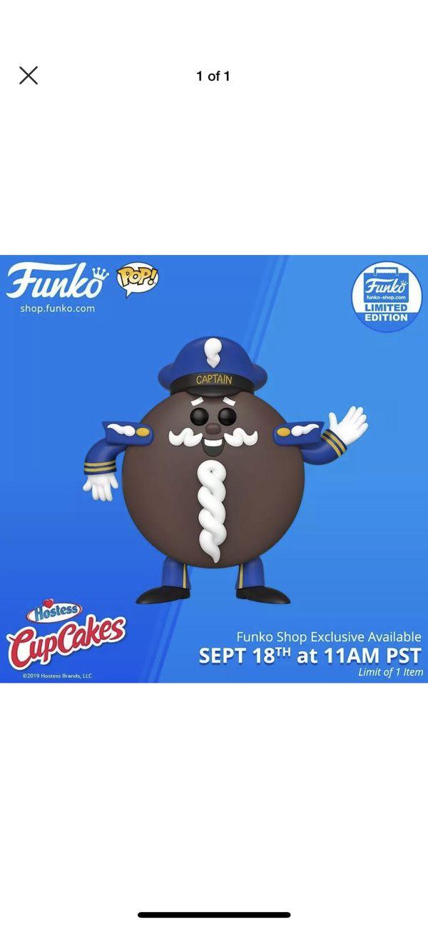 FUNKO POP! - CAPTAIN CUPCAKES AD ICON Funko shop exclusive