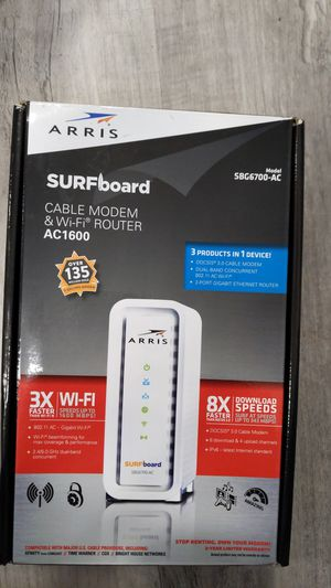Arris surfboard modem SBG 6700-ac for Sale in Irvine, CA