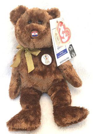 2002 FIFA ty beanie baby Croatia 🇭🇷 soccer ⚽️ bear 🐻 for Sale in Roswell, GA