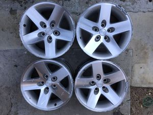 "16"" Jeep rubicon xj Yj wrangler 5x4.5 set oem wheels rims factory 16x8 for Sale in Torrance, CA"