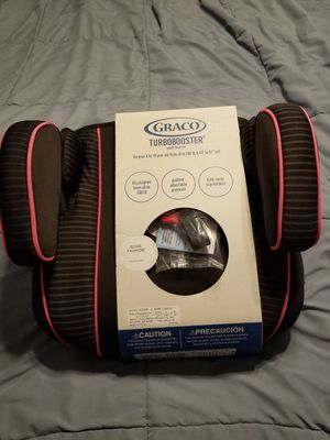 New! Graco turbobooster car booster seat $20 for Sale in San Juan, TX