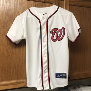 Genuine MLB Harper youth M (10-12) Jersey for Sale in Rockville, MD
