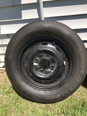 70s VW Beetle Rims w/new tires for Sale in Marysville, OH