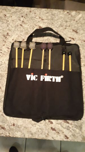 Drumstick set with case, Vic Firth and Yamaha - drum Sticks for Sale in Glendale, AZ