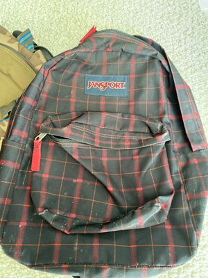 Jansport black /red backpack for Sale in Miami Beach, FL
