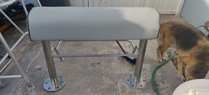 Expensive rare Stainless Leaning Post with Cooler holder for Sale in Pompano Beach, FL