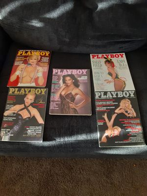5 Playboy magazines 50.00. Firm for Sale in Boulder City, NV