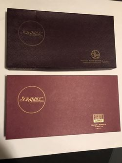 1953 & 1976 Selchow & Righter Scrabble Game Combo both Complete in Orig. Boxes for Sale in San Angelo,  TX