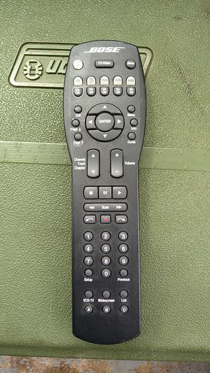 Bose lifestyle remote for Sale in St. Louis, MO