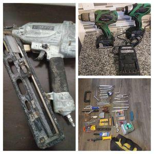 Drill set+Nail Gun+Tool bundle...$100 for Sale in Austin, TX