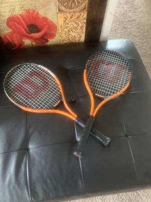 Wilson Tennis Rackets (Pair) for Sale in Hyattsville, MD