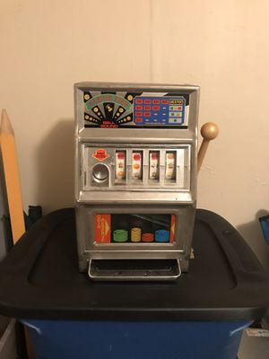 Vintage plastic slot machine for Sale in Springfield, MA