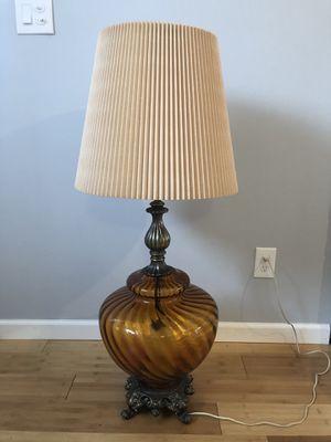 Antique Glass lamp for Sale in Warren, MI