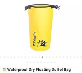 Waterproof Floating Duffle Bag YELLOW for Sale in Winter Haven,  FL