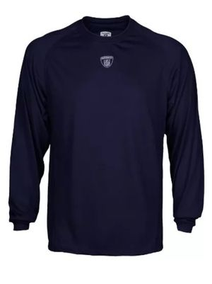 New Reebok NFL Equipment Navy Blue Men's Large Long Sleeve Dri-Fit Shirt for Sale in Las Vegas, NV