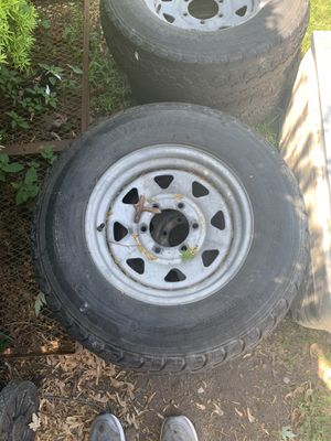 Trailer tires and rims for Sale in Bay City, MI