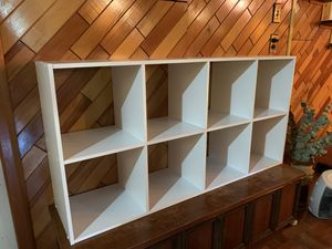 SHELF BOOKCASE (white) for Sale in Livingston, NJ
