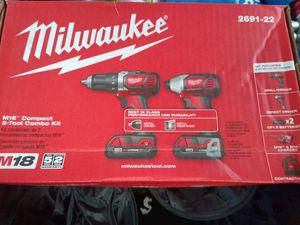 milwaukee m18 combo for Sale in Sacramento, CA