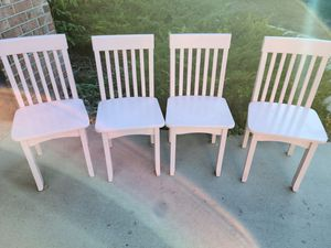 Pink wood kids chairs for Sale in Littleton, CO