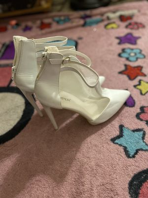 New white heels for Sale in Silver Spring, MD